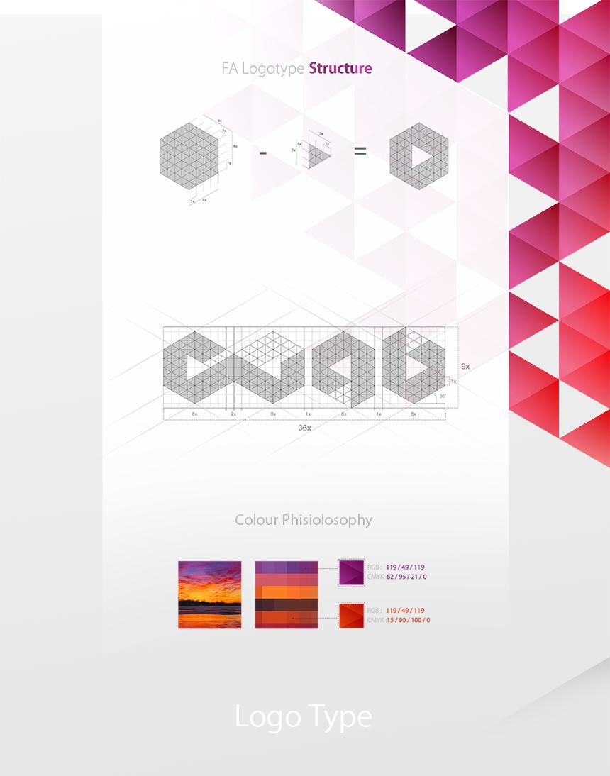طراحی لوگوتایپ فروشگاه اینترنتی پاویش, شرکت تبلیغاتی الف