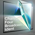 بنر هویت بصری شبکه چهار ، شبکه چهار سیما ، هویت بصری ، شرکت تبلیغاتی الف ، طراحی هویت بصری