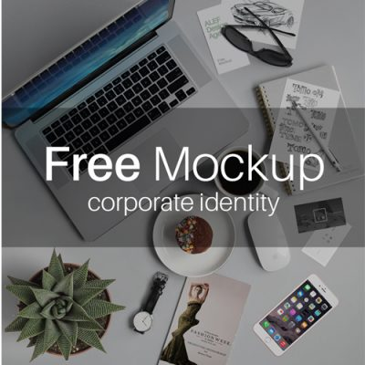free download of corporate identity mockup , alef design agency , corporate identity , free download