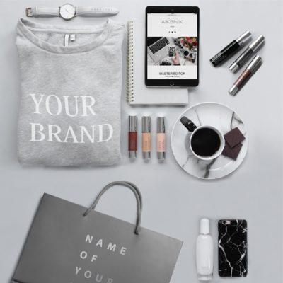 corporate identity, shopping bag, free shopping bag mock up, free mock up, alefdesignagency, corporate identity