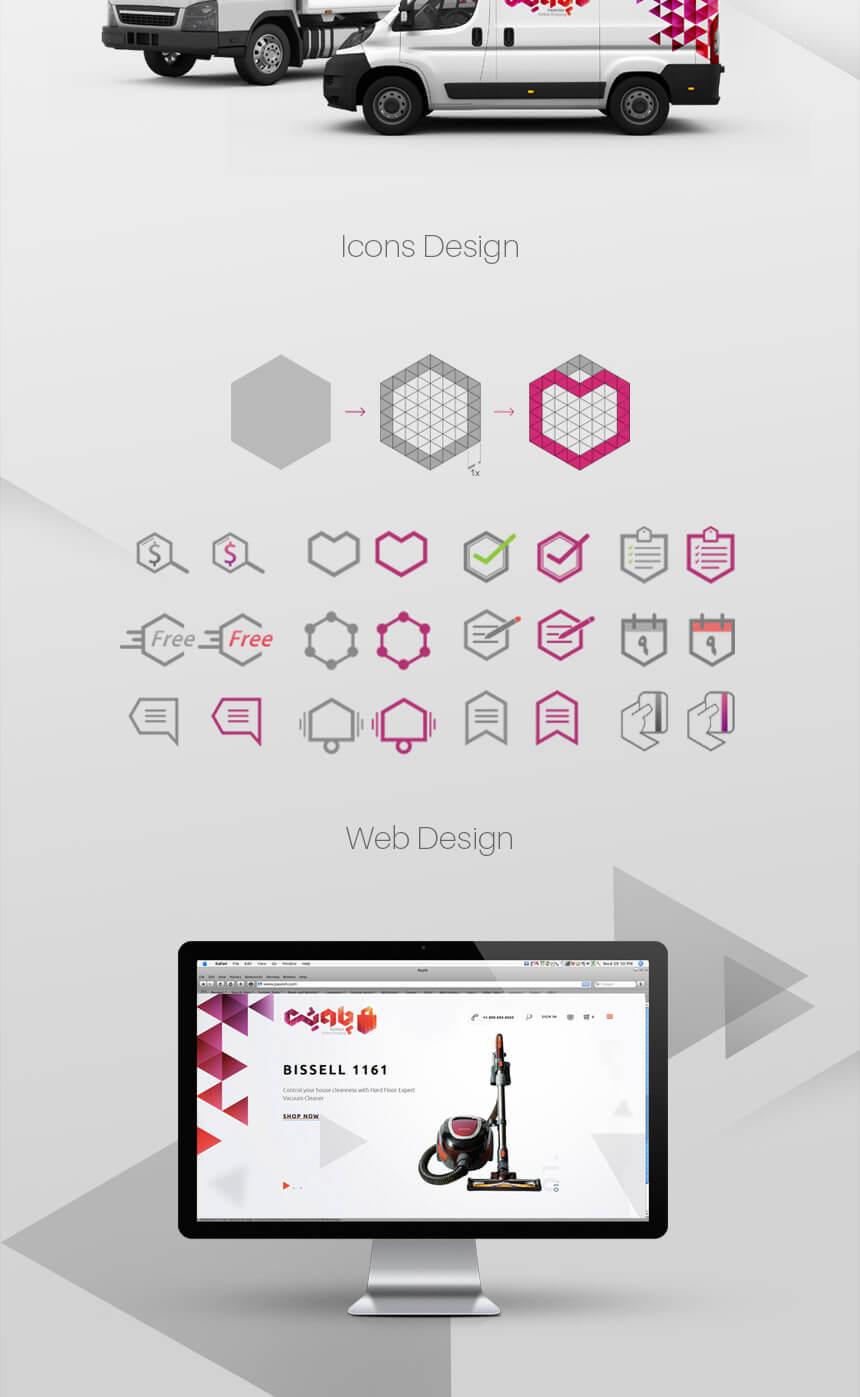 هویت بصری فروشگاه اینترنتی پاویش 8، سالن زیبایی فروشگاه اینترنتی پاویش، هویت بصری، طراحی هویت بصری، شرکت تبلیغاتی الف، طراحی لوگو، طراحی لوگوتابپ، طراحی ست اداری، طراحی اوراق اداری