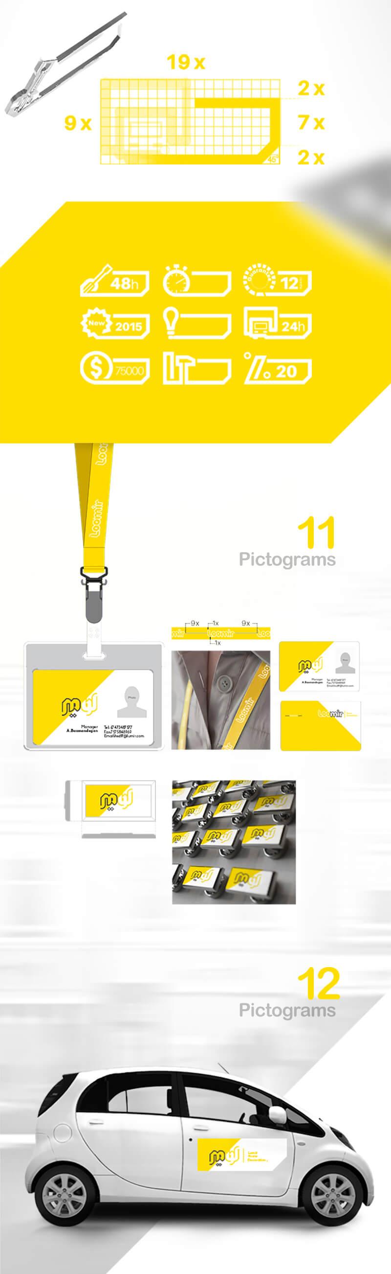 هویت بصری لومیر 6، لومیر، هویت بصری، طراحی لوگو، طراحی لوگوتایپ، طراحی ست اداری، طراحی اوراق اداری، شرکت تبلیغاتی الف، طراحی هویت بصری
