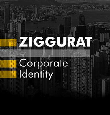 طراحی هویت بصری برند زیگورات