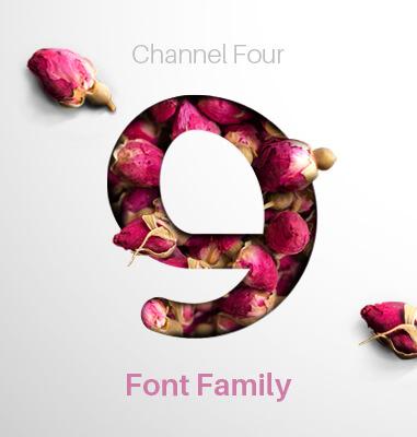 طراحی فونت شبکه چهار